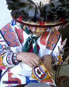 Huichol Native American Beading