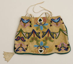 Nez Perce Beaded Bag, 1850-1860