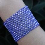 Blue Net Necklace