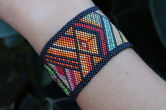 Native American Beaded Bracelet
