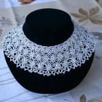 Beaded Lace Necklace