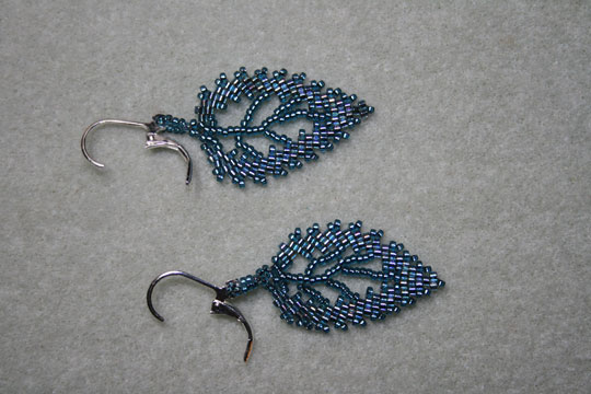 earrings pin beading beaded more pinteres