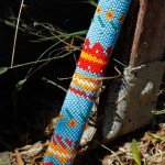 La Jolla Indian Reservation Beaded Stick
